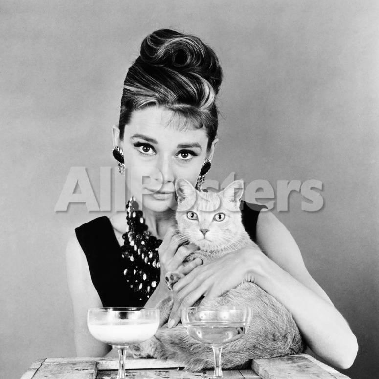 Breakfast at Tiffany\'s, Audrey Hepburn, 1961 Fotografía en AllPosters.es