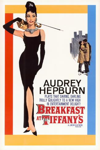 Breakfast At Tiffany's Lamina Framed Poster