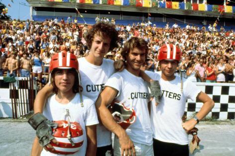 Breaking Away, Jackie Earle Haley, Daniel Stern, Dennis Christopher, Dennis Quaid, 1979 Photo