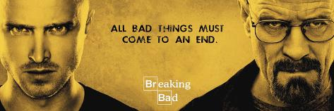 Breaking Bad - All Bad Things Poster