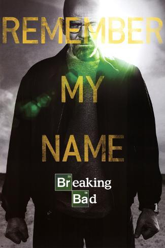 Breaking Bad Remember My Name Pôster