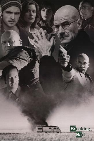 Breaking Bad (Up In Smoke) Poster