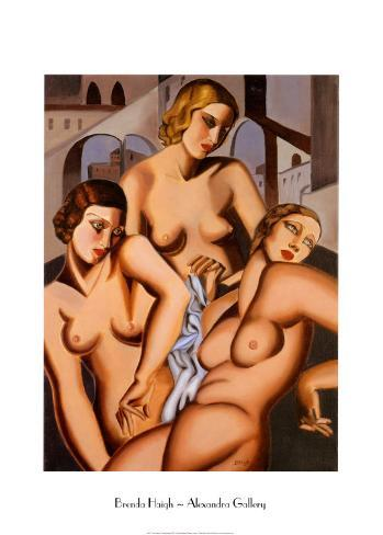 Three Graces Art Print
