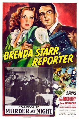 Brenda Starr, Reporter, 1945 Art Print