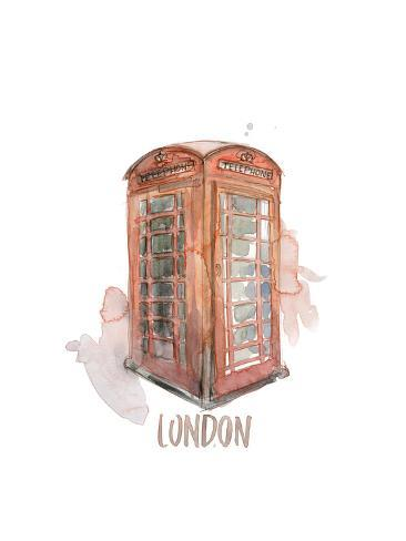 London Booth Premium Giclee Print