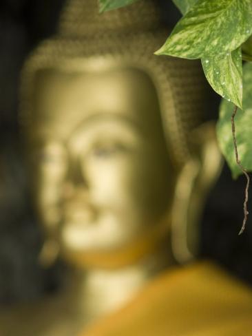 Buddha, Wat Chana Songkhram, Bangkok, Thailand Photographic Print