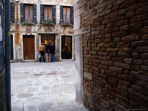 Window Shopping, Venice, Veneto, Italy Photographic Print