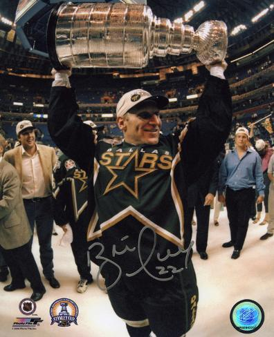 Brett Hull Dallas Stars Autographed Photo (Hand Signed Collectable) Photo
