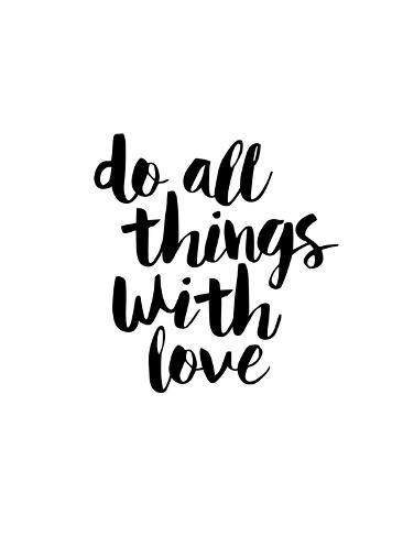 do all things with love prints by brett wilson allposters ca
