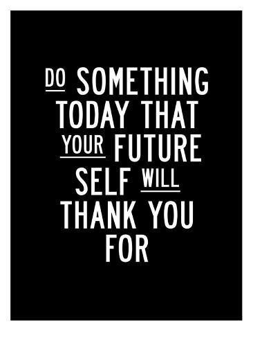 Do Something Today Art Print