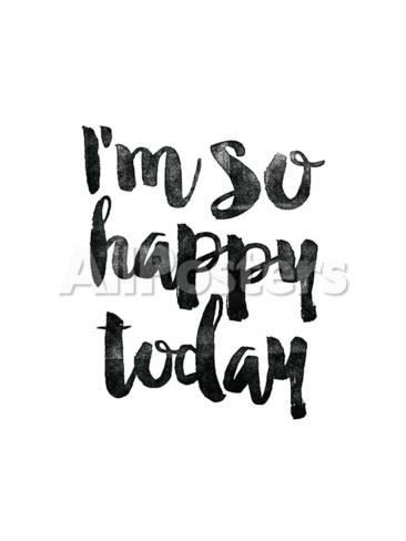 Im So Happy Today Giclee Print By Brett Wilson At Allposterscom