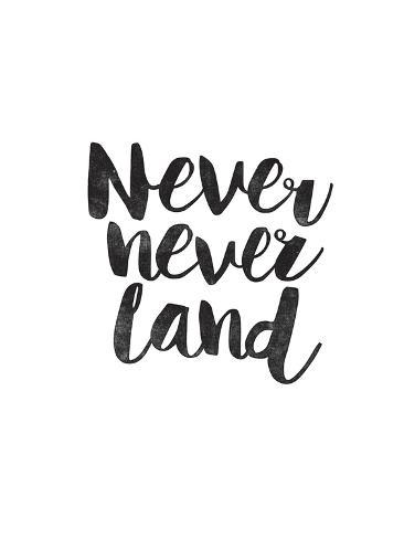 Never Never Land Art Print
