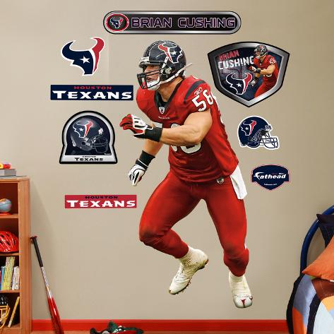 Brian Cushing Wall Decal