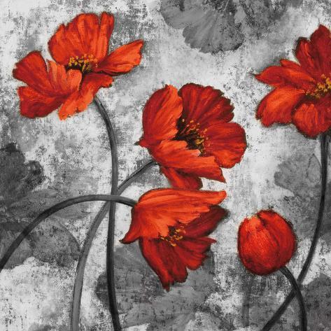 Evening Red II Art Print