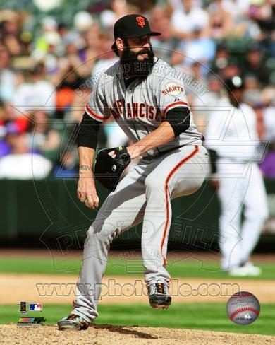 Brian Wilson 2012 Action Photo