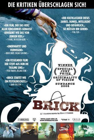 Brick - Swiss Style Pôster