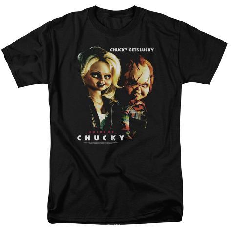 Bride Of Chucky- Chucky Gets Lucky T-Shirt