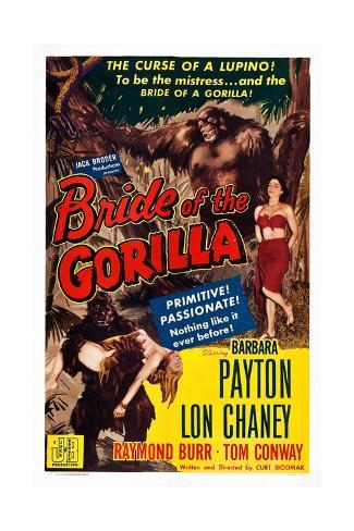 Bride of the Gorilla Giclee Print