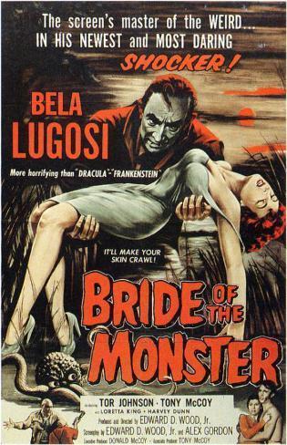 Bride of the Monster Stampa master