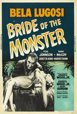 Bride of the Monster Poster