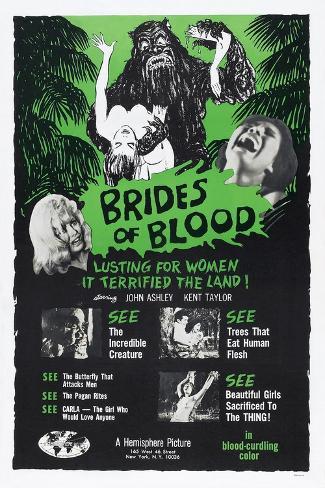 Brides of Blood, 1968 Art Print