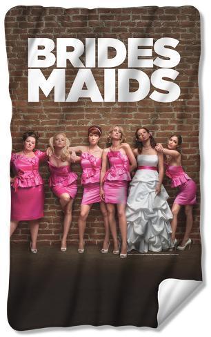 Bridesmaids - Poster Fleece Blanket Fleece Blanket