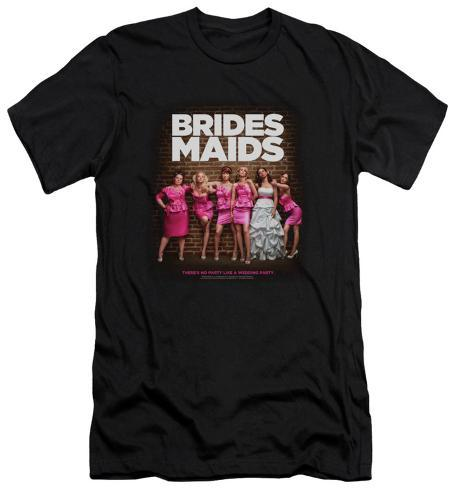 Bridesmaids - Poster (slim fit) T-Shirt