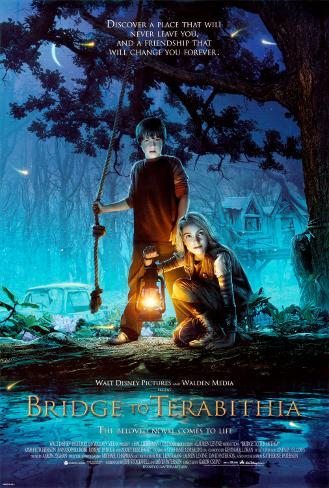 Bridge To Terabithia Double-sided poster
