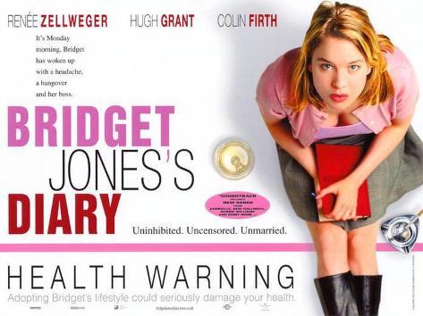 Bridget Jones's Diary Masterprint