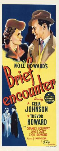 Brief Encounter - Australian Style Poster