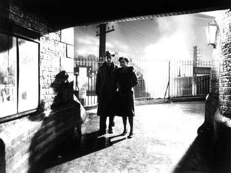 Brief Encounter, Trevor Howard, Celia Johnson, 1945 Fotografía