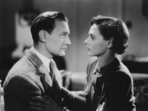 Brief Encounter, Trevor Howard, Celia Johnson, 1945 Photo