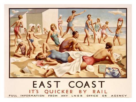 East Coast Giclee Print