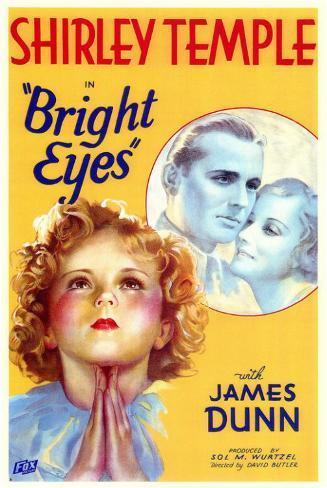 Bright Eyes, 1934 Impressão original