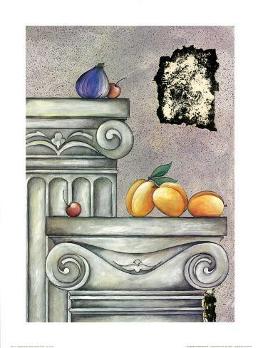 Fruits and Stones III Art Print