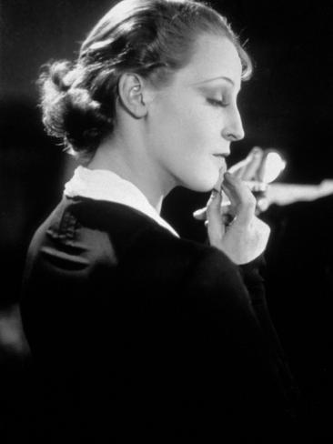 Brigitte Helm: Abwege, 1928 Fotoprint