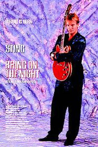 Bring On The Night Original Poster