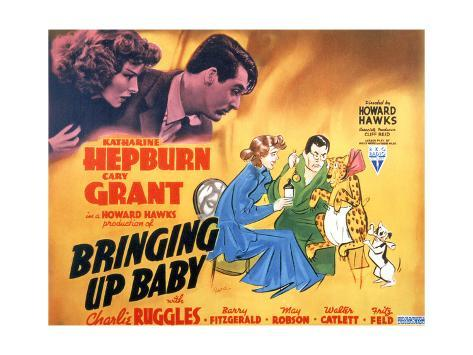 Bringing Up Baby - Lobby Card Reproduction Premium Giclee Print