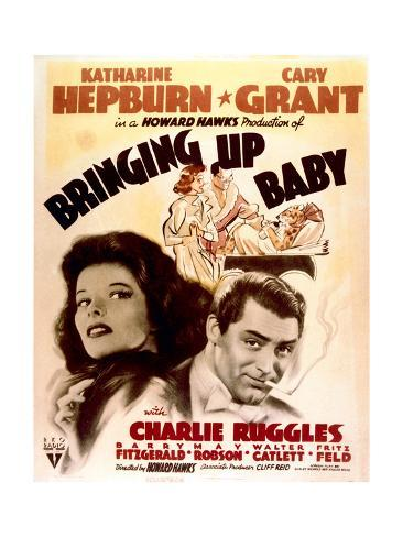 Bringing Up Baby - Movie Poster Reproduction Art Print