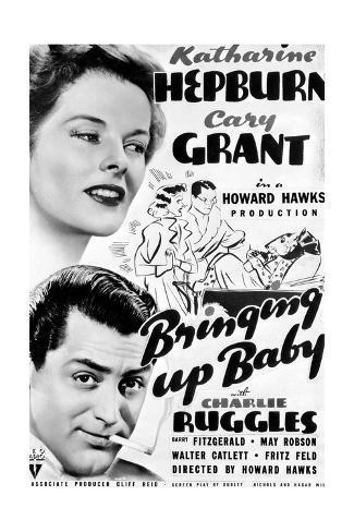 Bringing Up Baby - Movie Poster Reproduction Art Print