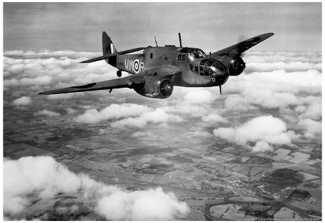Bristol Beaufort Military Plane 1942 Archival Photo Poster Poster