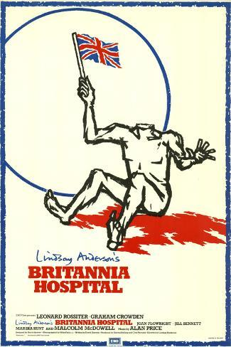 Britannia Hospital Art Print