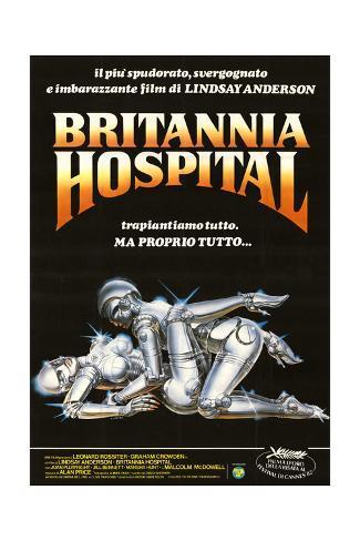 Britannia Hospital Lámina