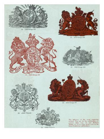 British Coats of Arms Giclee Print