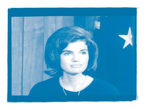 Jackie Kennedy III In Colour Photographic Print