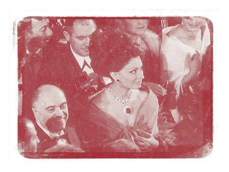 Sophia Loren IV In Colour Photographic Print