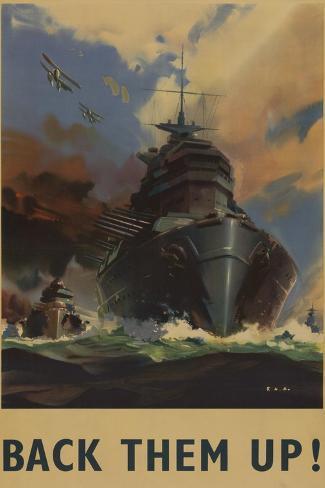 British World War 2 Poster Stampa artistica