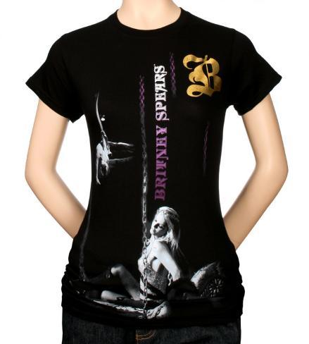 Britney Spears - Ladies Chain T-Shirt