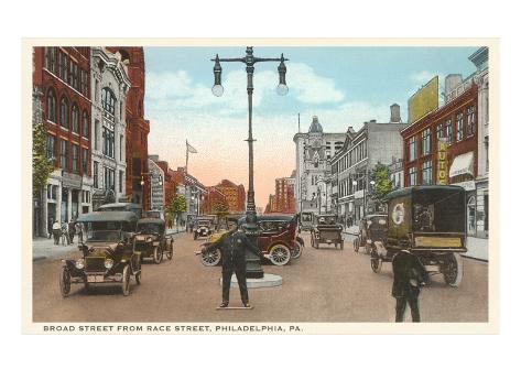 Broad Street, Philadelphia, Pennsylvania Art Print
