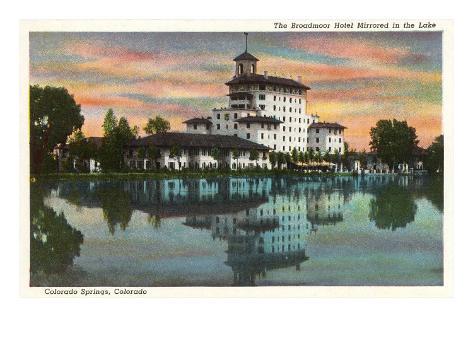 Broadmoor Hotel, Colorado Springs, Colorado Art Print